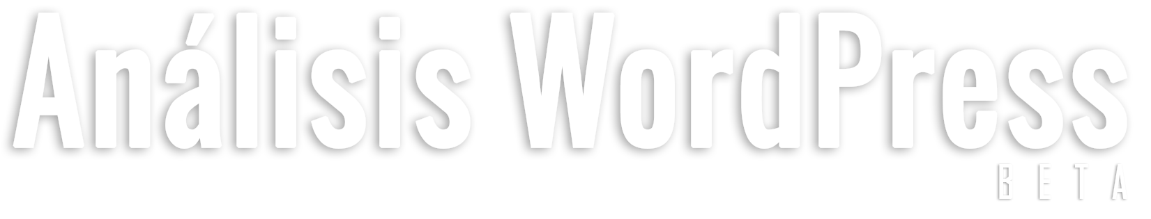 Análisis WordPress